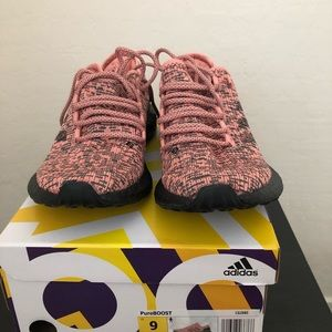 Adidas Pure Boost- Trace Pink- Core Black